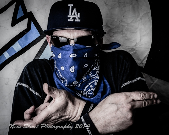 American Gangster by Birmingham portrait photographer Barry Robinson