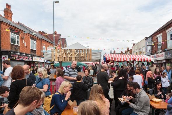 The Crowd by Birmingham photographer Barry Robinson