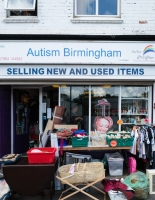 Autism Birmingham shop by Birmingham photographer Barry Robinson