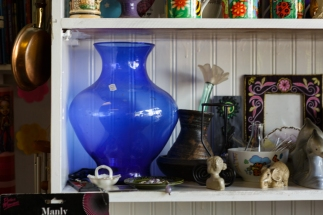 Blue vase by Birmingham photographer Barry Robinson