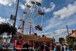 Big wheel fun by Birmingham photographer Barry Robinson