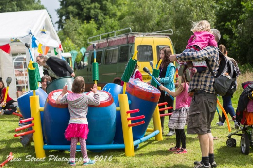 CoCoMad drum circle by Birmingham photographer Barry Robinson