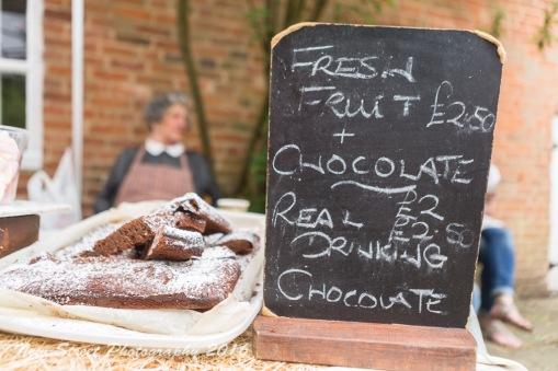 Fresh fruit and chocolate by Birmingham photographer Barry Robinson