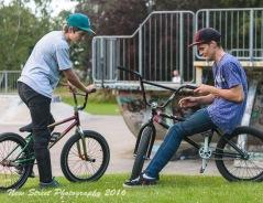 Skatepark gossip by Birmingham photographer Barry Robinson