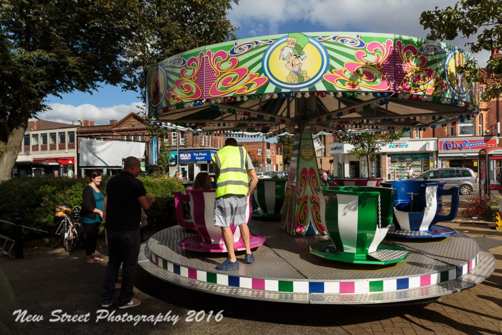 The teacup ride by Birmingham photographer Barry Robinson