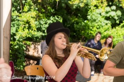 Trumpet player by Birmingham photographer Barry Robinson